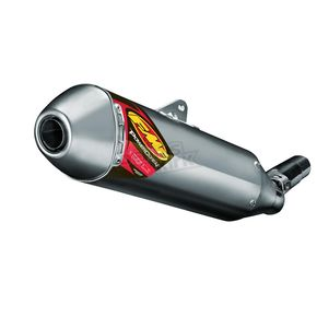 FMF Titanium PowerCore - Natural Muffler - 043344