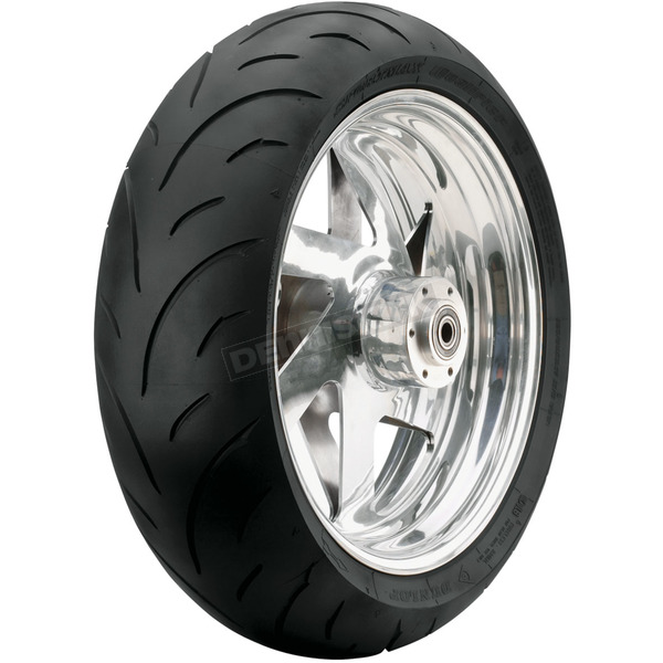 Dunlop Rear Qualifier 190/55ZR-17 Blackwall Tire - 32AB-65