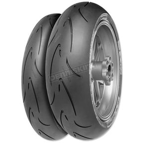 Continental Front Conti Race Attack Comp 120/70ZR-17 Blackwall Tire - 02441510000