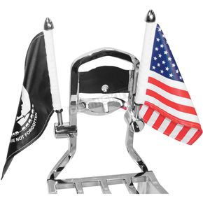 Square Sissy Bar Flag Mount - RFMSQSB