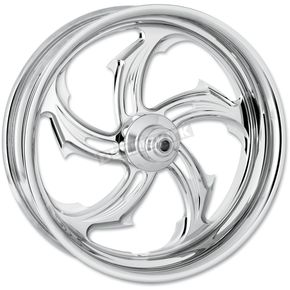 Performance Machine Chrome 18 x 10.5 Custom Rival Wheel for 1 in. Axles - 12747834RRVL