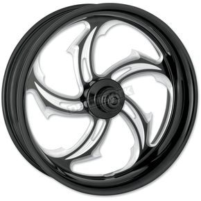 Performance Machine Black 18 x 8.5 Custom Rival Contrast-Cut Wheel for 1 in. Axles - 12747825RRVL
