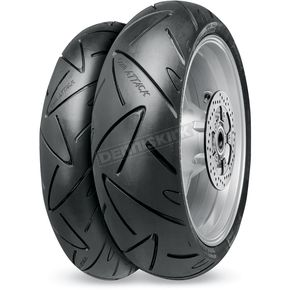 Continental Front Conti Sport Attack 2 120/70ZR-17 Blackwall Tire - 02440060000