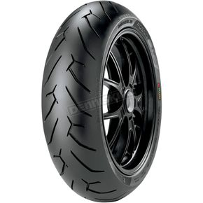 Pirelli Rear Diablo-Rosso II 170/60ZR-17 Blackwall Tire - 2070300
