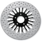Rear 11.8 in. Boss Two-Piece Contrast-Cut Brake Rotor - 01331802BSSSSBM
