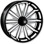 18 in. x 5.5 in. Boss One-Piece Contrast Cut Aluminum Wheel - 12697814RMSSBM