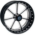 21 in. x 3.5 in. Diesel One-Piece Contrast Cut Aluminum Wheel - 12047106DIEJBM