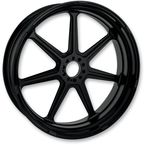 18 in. x 5.5 in. Morris One-Piece Black Ops Aluminum Wheel  - 12597814RMRSSMB