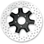 Front 11.5 in. Morris Two-Piece Black Ops Brake Rotor - 01331522MRSSMB