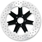 Front 13 in. Morris Two-Piece Black Ops Brake Rotor - 01333015MRSLSMB