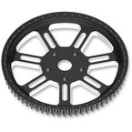 1 in. Delmar Contrast Cut Ops Forged Aluminum Pulley - 00936266DELLSBM