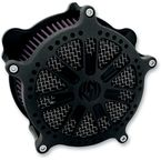 Black Ops Slam Venturi Air Cleaner - 0206-2047-SMB