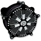 Contrast Cut Slam Venturi Air Cleaner - 0206-2045-BM