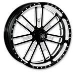 21 in. x 2.15 in. Slam One-Piece Contrast-Cut Aluminum Wheel for Models w/ABS - 12047106SLMJBM