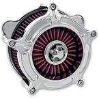 Chrome Turbine Air Cleaner - 0206-2037-CH