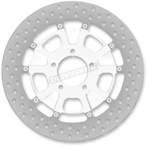 Roland Sands Design 11.5 in. Rear Chrome Raider Two-Piece Brake Rotor - 01331523RRDLSCH