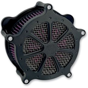 Roland Sands Design Black Ops Speed 7 Venturi Air Cleaner - 0206-2018-SMB