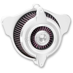 Roland Sands Design Chrome Blunt Power Air Cleaner - 0206-2109-CH