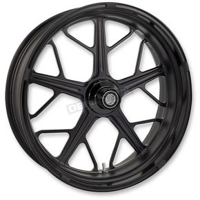 Roland Sands Design Black Ops Front Hutch Wheel - 12027106HUTJSMB