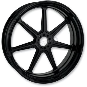 Roland Sands Design 18 in. x 5.5 in. Morris One-Piece Black Ops Aluminum Wheel  - 12597814RMRSSMB