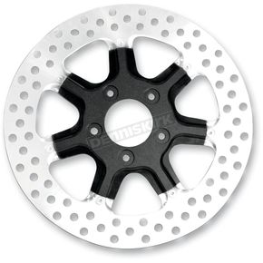 Roland Sands Design Front 11.5 in. Morris Two-Piece Black Ops Brake Rotor - 01331522MRSSMB