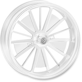 Roland Sands Design 18 in. x 5.5 in. Rear Chrome Raider One-Piece Aluminum Wheel - 12597814RRRDCH