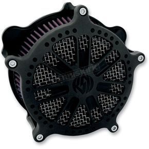Roland Sands Design Black Ops Slam Venturi Air Cleaner - 0206-2046-SMB