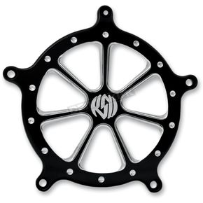 Roland Sands Design Contrast Cut Speed 7 Venturi Air Cleaner Faceplate - 02062032SPD7BM