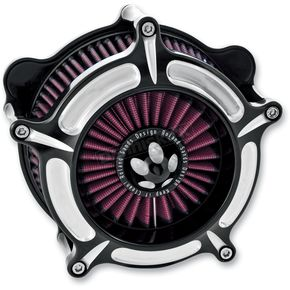 Contrast Cut Turbine Air Cleaner - 0206-2037-BM
