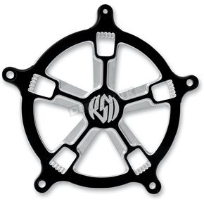 Roland Sands Design Contrast Cut Turbo Venturi Air Cleaner Faceplate - 02062032TURBM
