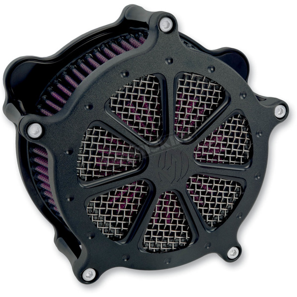 Roland Sands Design Black Ops Speed 7 Venturi Air Cleaner - 0206-2003-SMB