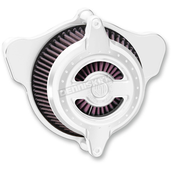 Roland Sands Design Chrome Blunt Radial Air Cleaner - 0206-2103-CH