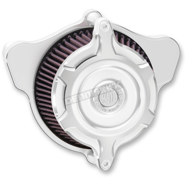 Roland Sands Design Chrome Blunt Split Air Cleaner - 0206-2104-CH