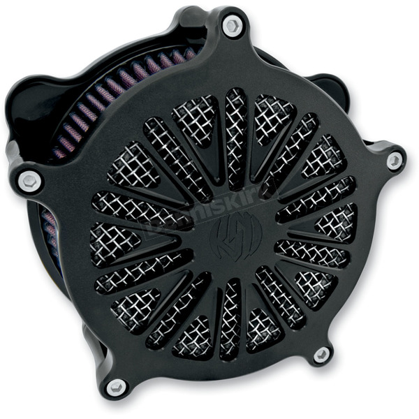 Roland Sands Design Black Ops Cut Boss Venturi Air Cleaner - 0206-2041-SMB