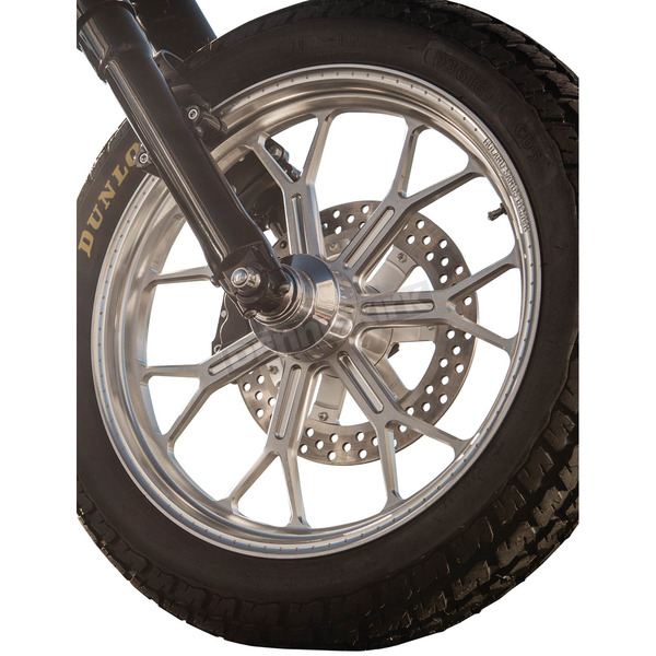 Roland Sands Design Machine Ops 23x3.5 Delmar Front Wheel - 12227306RDELSMC