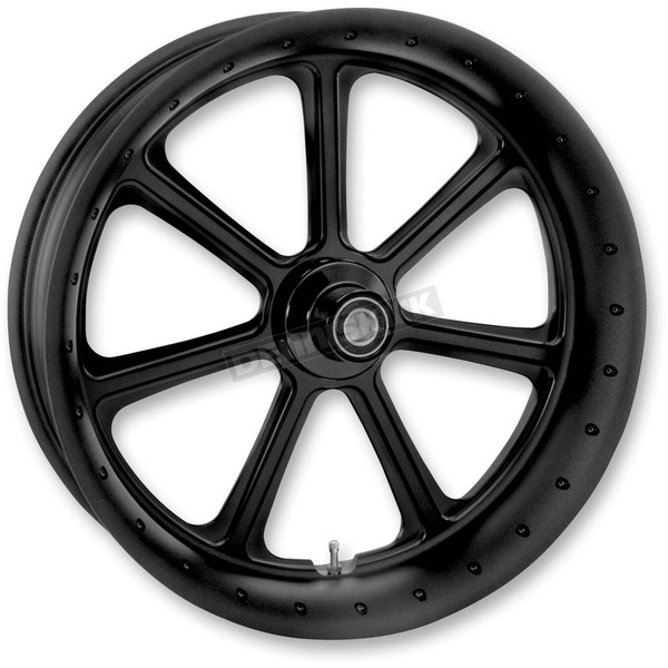 Roland Sands Design 23 in. x 3.5 in. Diesel One-Piece Black Ops Aluminum Wheel for Models w/ ABS - 12047306RDIESMB
