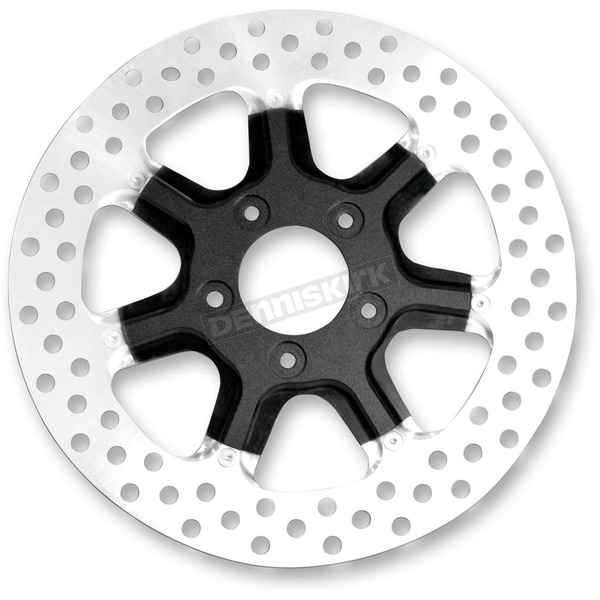 Roland Sands Design Rear 11.5 in. Morris Two-Piece Black Ops Brake Rotor - 01331523MRSLSMB