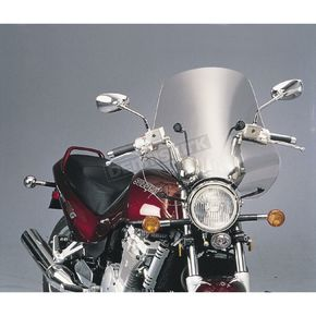 Slip Streamer Clear Sport Shield Windshield - S-08-C-M