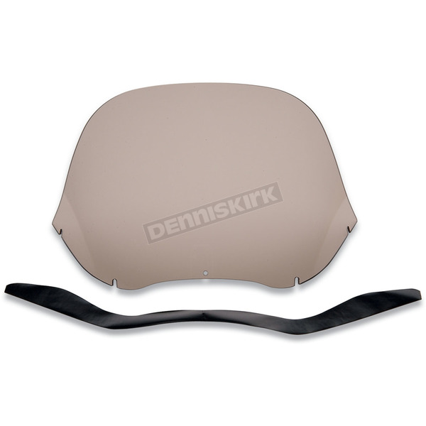 Slip Streamer Smoke Windshield for HD Touring Fairings - S-139-15