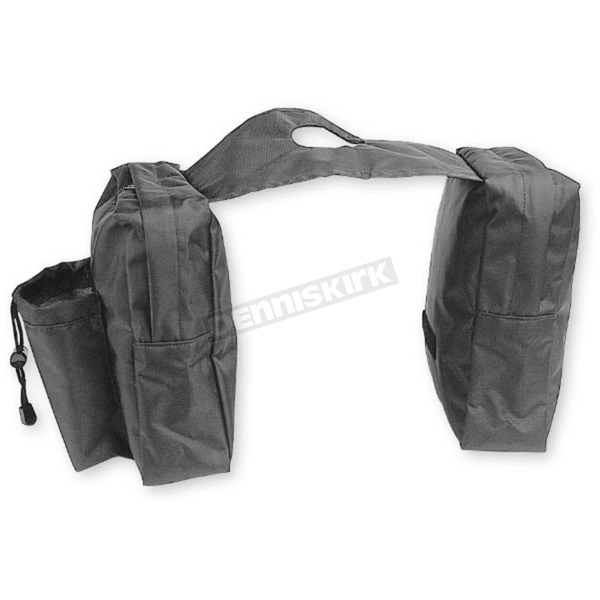 ATV Logic Black Tank Saddlebags - SB-6B