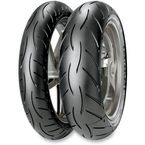 Front Sportec M5 Radial Interact 110/70ZR-17 Blackwall Tire - 2028100