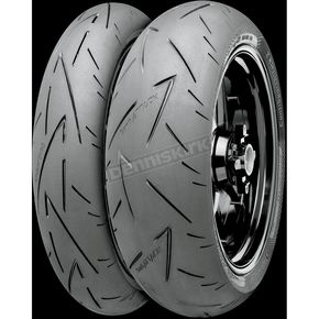 Continental Rear Conti Sport Attack 2 190/50ZR-17 Blackwall Tire - 02440120000