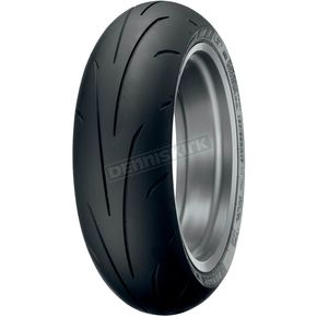 Dunlop Rear Sportmax Q3 180/55ZR-17 Blackwall Tire - 32SM-32