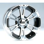 Rear Machined SS112 Alloy 14x8 Wheel - 1428331404B