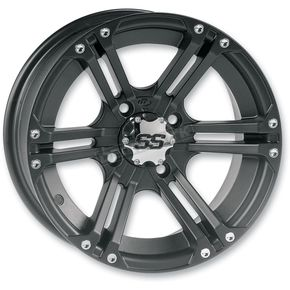ITP Front/Rear SS212 Black Alloy 12x7 Wheel - 1228366536B