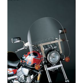 Slip Streamer 17 in. SS-30 Classic Clear Windshield for Standard Forks 35-41mm - SS-30-17C