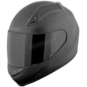 Speed and Strength Matte Black SS700 Solid Speed Helmet - 87-7372