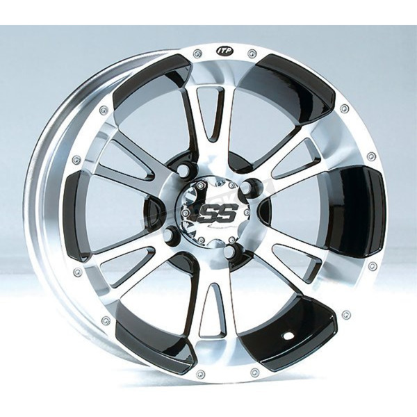 ITP Front/Rear Machined SS112 Alloy 14x8 Wheel - 1428259404B