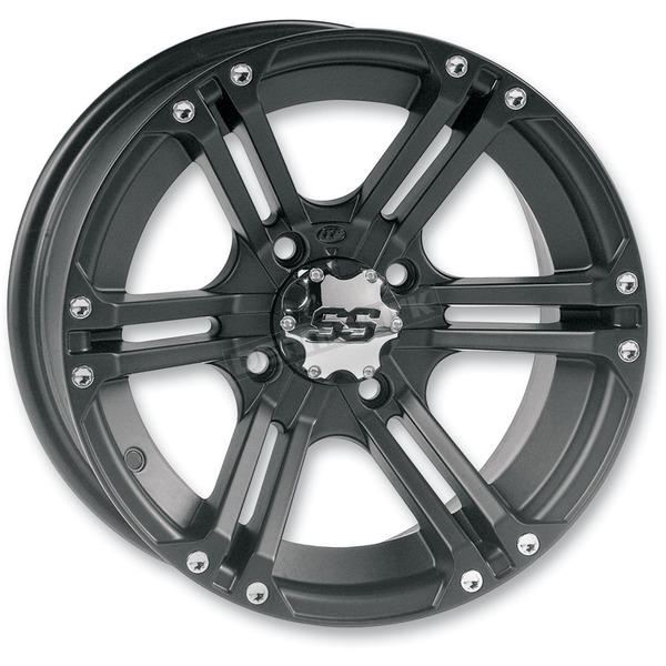 ITP Front SS212 Black Alloy 14x6 Wheel - 1428379536B