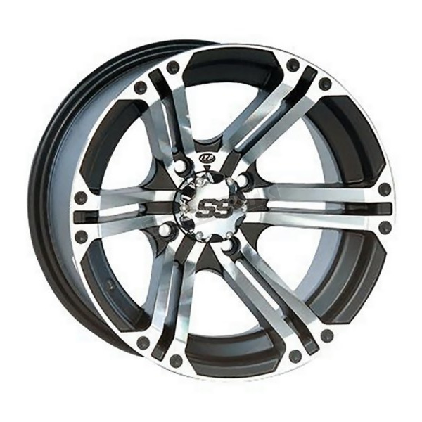 Rear Machined SS212 Alloy 14x8 Wheel - 1428376404B